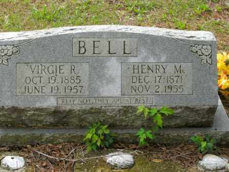 BELL, VIRGIE ARVILLE - Boone County, Arkansas | VIRGIE ARVILLE BELL - Arkansas Gravestone Photos