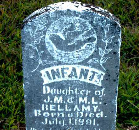 BELLAMY, INFANT DAUGHTER - Boone County, Arkansas | INFANT DAUGHTER BELLAMY - Arkansas Gravestone Photos