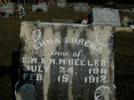 BELLER, EMMA LORENA - Boone County, Arkansas | EMMA LORENA BELLER - Arkansas Gravestone Photos