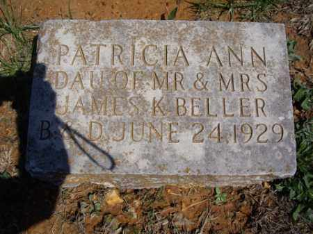 BELLER, PATRICIA ANN - Boone County, Arkansas | PATRICIA ANN BELLER - Arkansas Gravestone Photos