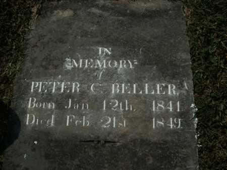 BELLER, PETER C. - Boone County, Arkansas | PETER C. BELLER - Arkansas Gravestone Photos