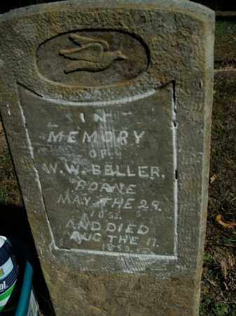 BELLER, W.W. - Boone County, Arkansas | W.W. BELLER - Arkansas Gravestone Photos