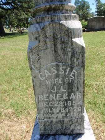 BENEGAR, CASSIE - Boone County, Arkansas | CASSIE BENEGAR - Arkansas Gravestone Photos