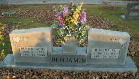 BENJAMIN, ROBERT M. - Boone County, Arkansas | ROBERT M. BENJAMIN - Arkansas Gravestone Photos