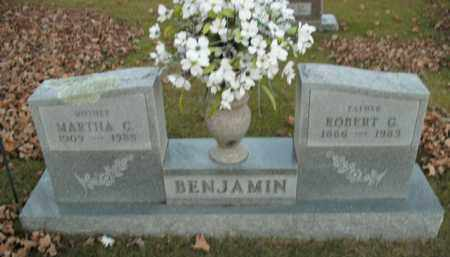 BENJAMIN, ROBERT G. - Boone County, Arkansas | ROBERT G. BENJAMIN - Arkansas Gravestone Photos