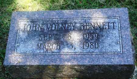 BENNETT, JOHN VOLNEY - Boone County, Arkansas | JOHN VOLNEY BENNETT - Arkansas Gravestone Photos