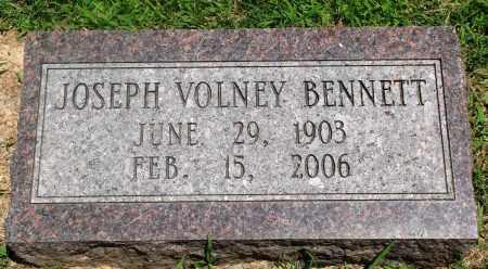BENNETT, JOSEPH VOLNEY - Boone County, Arkansas | JOSEPH VOLNEY BENNETT - Arkansas Gravestone Photos
