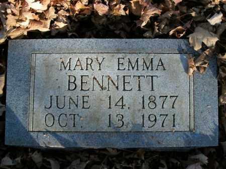 BENNETT, MARY EMMA - Boone County, Arkansas | MARY EMMA BENNETT - Arkansas Gravestone Photos