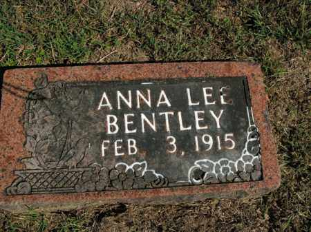 BENTLEY, ANNA LEE - Boone County, Arkansas | ANNA LEE BENTLEY - Arkansas Gravestone Photos
