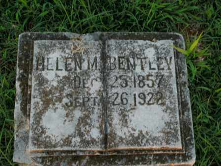 BENTLEY, HELEN M. - Boone County, Arkansas | HELEN M. BENTLEY - Arkansas Gravestone Photos