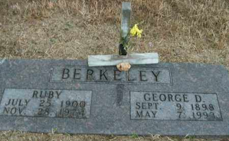 BERKELEY, GEORGE D. - Boone County, Arkansas | GEORGE D. BERKELEY - Arkansas Gravestone Photos