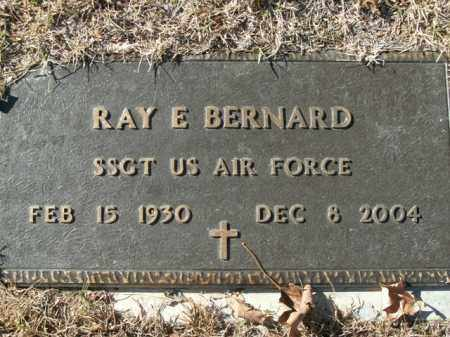 BERNARD  (VETERAN), RAY E - Boone County, Arkansas | RAY E BERNARD  (VETERAN) - Arkansas Gravestone Photos