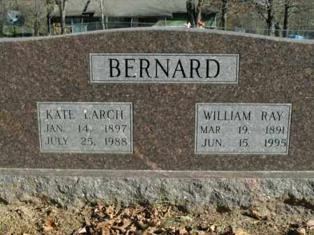 BERNARD, WILLIAM RAY - Boone County, Arkansas | WILLIAM RAY BERNARD - Arkansas Gravestone Photos