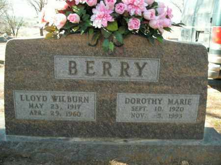 BERRY, LLOYD WILBURN - Boone County, Arkansas | LLOYD WILBURN BERRY - Arkansas Gravestone Photos
