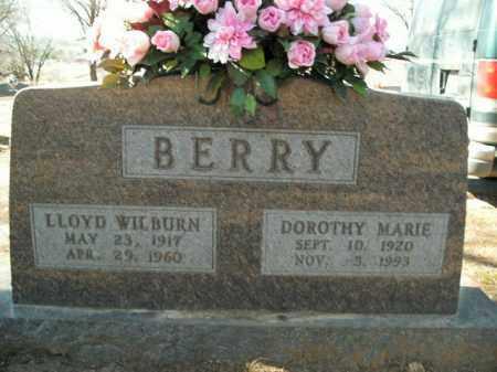 BERRY (VETERAN WWII), LLOYD WILBURN - Boone County, Arkansas | LLOYD WILBURN BERRY (VETERAN WWII) - Arkansas Gravestone Photos