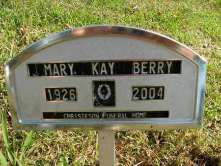 BERRY, MARY KAY - Boone County, Arkansas | MARY KAY BERRY - Arkansas Gravestone Photos
