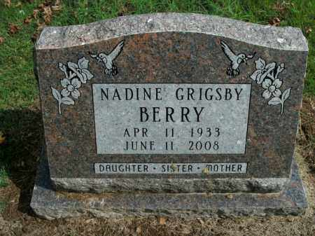 GRIGSBY BERRY, NADINE - Boone County, Arkansas | NADINE GRIGSBY BERRY - Arkansas Gravestone Photos