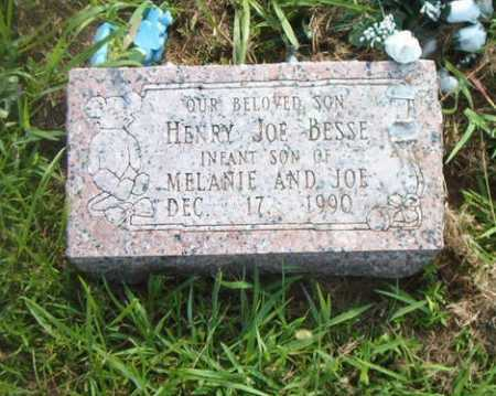 BESSE, HENRY JOE - Boone County, Arkansas | HENRY JOE BESSE - Arkansas Gravestone Photos