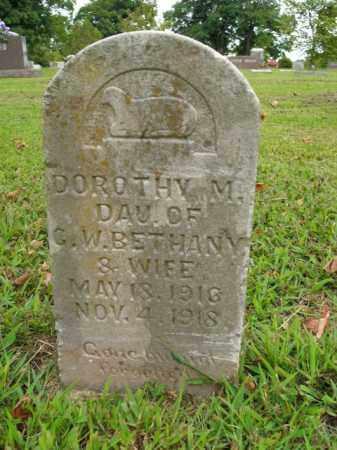 BETHANY, DOROTHY M. - Boone County, Arkansas | DOROTHY M. BETHANY - Arkansas Gravestone Photos