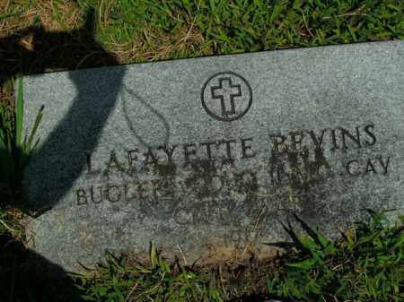 BEVINS  (VETERAN UNION), LAFAYETTE - Boone County, Arkansas | LAFAYETTE BEVINS  (VETERAN UNION) - Arkansas Gravestone Photos