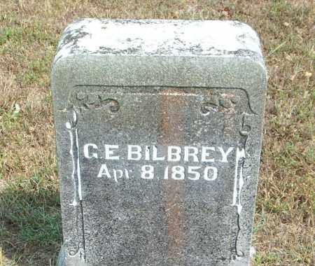 BILBREY, G. E. - Boone County, Arkansas | G. E. BILBREY - Arkansas Gravestone Photos