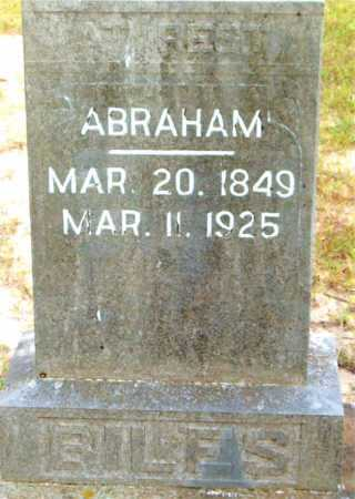 BILES, ABRAHAM - Boone County, Arkansas | ABRAHAM BILES - Arkansas Gravestone Photos