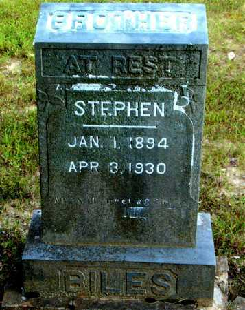 BILES, STEPHEN - Boone County, Arkansas | STEPHEN BILES - Arkansas Gravestone Photos