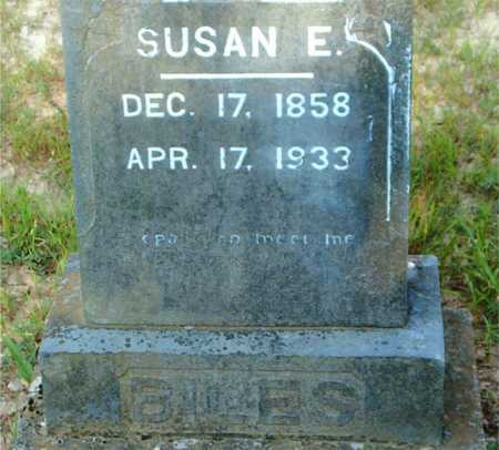 BILES, SUSAN E. - Boone County, Arkansas | SUSAN E. BILES - Arkansas Gravestone Photos