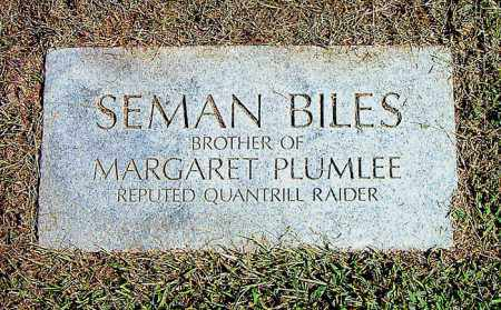 BILES, SEMAN - Boone County, Arkansas | SEMAN BILES - Arkansas Gravestone Photos