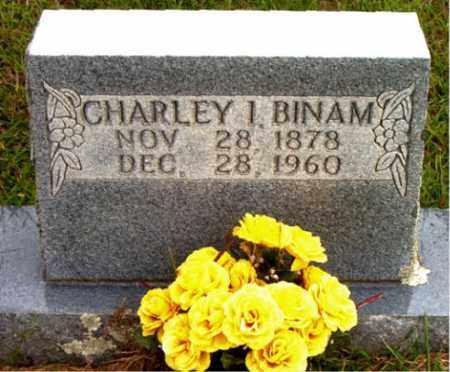 BINAM, CHARLEY  I. - Boone County, Arkansas | CHARLEY  I. BINAM - Arkansas Gravestone Photos