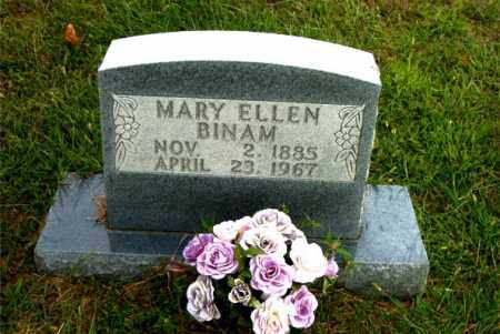 BINAM, MARY ELLEN - Boone County, Arkansas | MARY ELLEN BINAM - Arkansas Gravestone Photos