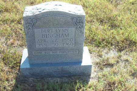 BINGHAM, BERT LYNN - Boone County, Arkansas | BERT LYNN BINGHAM - Arkansas Gravestone Photos