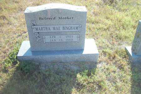 BINGHAM, MARTHA MAE - Boone County, Arkansas | MARTHA MAE BINGHAM - Arkansas Gravestone Photos