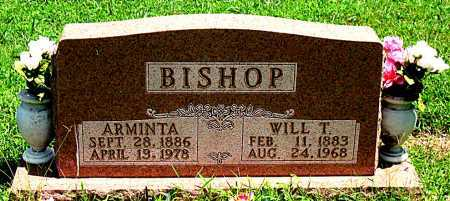 BISHOP, ARMINTA - Boone County, Arkansas | ARMINTA BISHOP - Arkansas Gravestone Photos