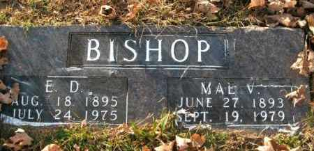 "BISHOP, ELZA DUNNINGTON ""ED"" - Boone County, Arkansas 