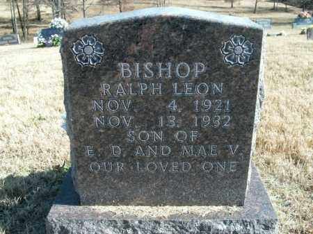BISHOP, RALPH LEON - Boone County, Arkansas | RALPH LEON BISHOP - Arkansas Gravestone Photos