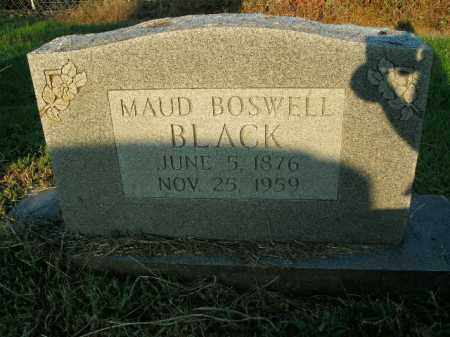 BOSWELL BLACK, MAUD - Boone County, Arkansas | MAUD BOSWELL BLACK - Arkansas Gravestone Photos