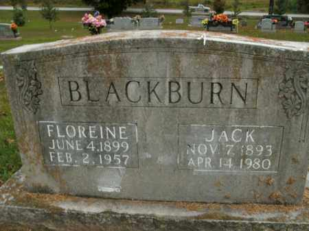 BLACKBURN, FLOREINE - Boone County, Arkansas | FLOREINE BLACKBURN - Arkansas Gravestone Photos