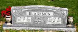 BLACKMON, LLOYD WAYNE - Boone County, Arkansas | LLOYD WAYNE BLACKMON - Arkansas Gravestone Photos
