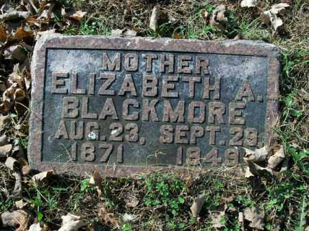BLACKMORE, ELIZABETH A. - Boone County, Arkansas | ELIZABETH A. BLACKMORE - Arkansas Gravestone Photos
