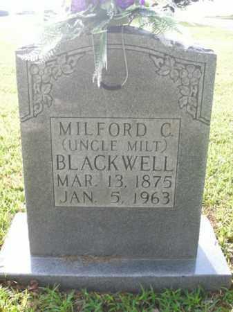 BLACKWELL, MILFORD C. - Boone County, Arkansas | MILFORD C. BLACKWELL - Arkansas Gravestone Photos