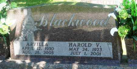 BLACKWOOD, HAROLD V - Boone County, Arkansas | HAROLD V BLACKWOOD - Arkansas Gravestone Photos