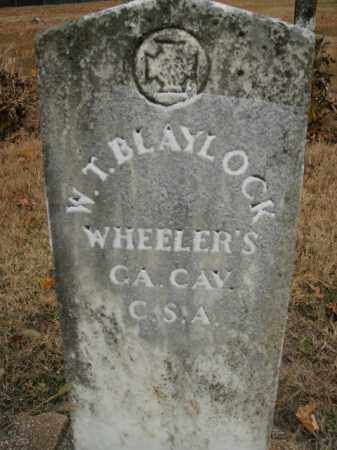 BLAYLOCK  (VETERAN CSA), W.T. - Boone County, Arkansas | W.T. BLAYLOCK  (VETERAN CSA) - Arkansas Gravestone Photos