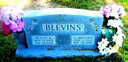BLEVINS, BETTY  A. - Boone County, Arkansas | BETTY  A. BLEVINS - Arkansas Gravestone Photos