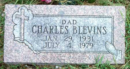 BLEVINS, CHARLES - Boone County, Arkansas | CHARLES BLEVINS - Arkansas Gravestone Photos