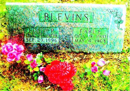 BLEVINS, EDITH P - Boone County, Arkansas | EDITH P BLEVINS - Arkansas Gravestone Photos