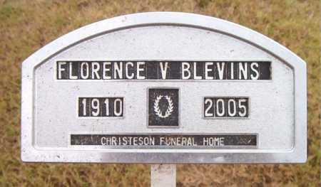 BLEVINS, FLORENCE  V - Boone County, Arkansas | FLORENCE  V BLEVINS - Arkansas Gravestone Photos