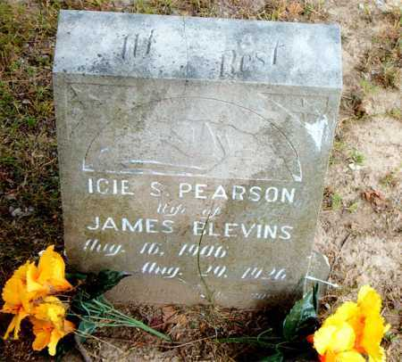 BLEVINS, ICIE S. - Boone County, Arkansas | ICIE S. BLEVINS - Arkansas Gravestone Photos