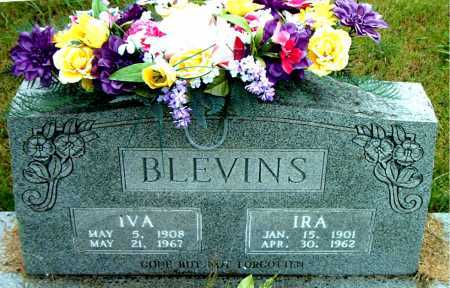 BLEVINS, IRA - Boone County, Arkansas | IRA BLEVINS - Arkansas Gravestone Photos