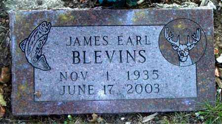 BLEVINS, JAMES EARL - Boone County, Arkansas | JAMES EARL BLEVINS - Arkansas Gravestone Photos
